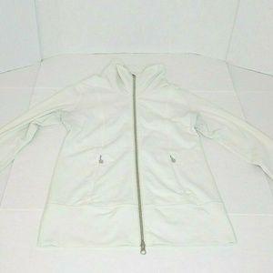 Lululemon Daily Yoga Jacket Polar Cream Size 6